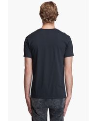 Marc By Marc Jacobs | Orcha Black Printed Cotton I Would Crewneck T-shirt for Men | Lyst
