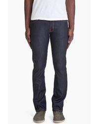 Nudie Jeans | Blue Slacker Jack Dry Organic Jeans for Men | Lyst