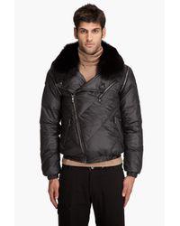 Pyrenex | Black Bad Fur Jacket for Men | Lyst