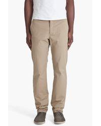 Theory | Natural Bredford Trivial Pants for Men | Lyst
