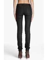 Acne Studios - Black Kex Pleather Jeans - Lyst