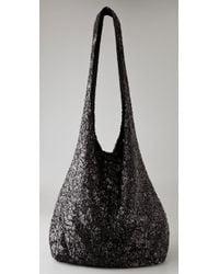 Alice + Olivia | Metallic Sequin Hobo Bag | Lyst