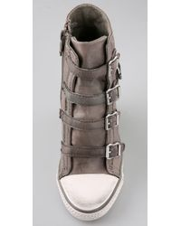 Ash | Green Thelma Wedge Sneakers | Lyst