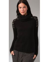 Camilla & Marc - Black Stone Cold Turtleneck Sweater - Lyst