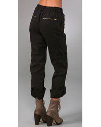 DKNY - Black Pure Dkny Cargo Pants - Lyst