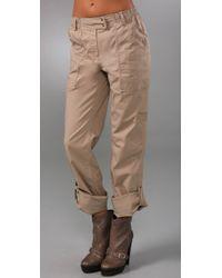 DKNY - Natural Pure Dkny Cargo Pants - Lyst