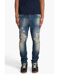 DSquared² | Black Kenny Twist Jeans for Men | Lyst