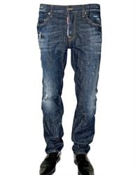 DSquared² | Blue Regular Fit Denim Jeans for Men | Lyst