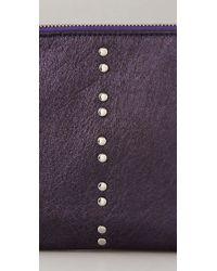 Gorjana | Purple Thompson Cosmetic Pouch | Lyst