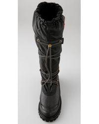 HUNTER   Black Summit Waterproof Boots   Lyst