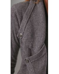 Jamison | Gray Terence Sweater Jacket | Lyst