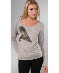 Leyendecker - Gray Tower Sweatshirt - Lyst