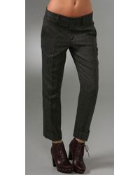 Marc By Marc Jacobs | Gray Reilly Herringbone Pants | Lyst