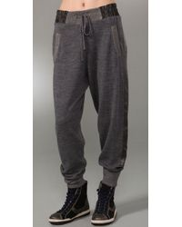 Marc By Marc Jacobs | Gray Zenith Sweater Pants | Lyst