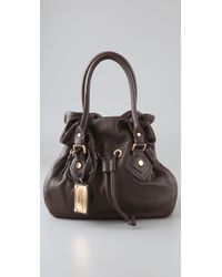 Marc By Marc Jacobs | Brown Classic Q Petite Drawstringy Bag | Lyst