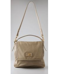 Marc By Marc Jacobs | Natural Totally Turnlock Lydia Crossbody | Lyst