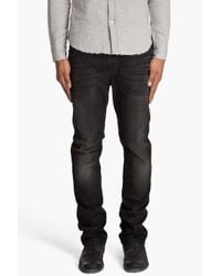 Nudie Jeans | Thin Finn Dusty Black Jeans for Men | Lyst