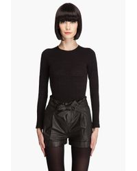 Opening Ceremony | Black Corset Body Suit | Lyst