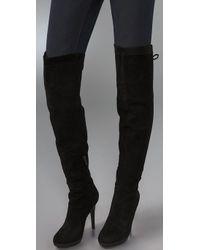 Sam Edelman - Black Vesey Thigh High Boot - Lyst