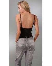 Tigerlily - Black Bustier Bodysuit - Lyst