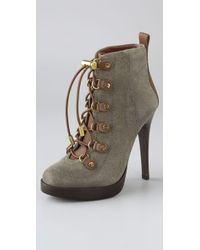 Tory Burch - Green Halima Bootie - Lyst