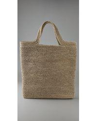 Zimmermann | Natural Flat Bag | Lyst