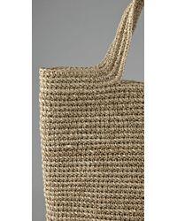 Zimmermann - Natural Flat Bag - Lyst