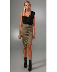 Alexander Wang | Metallic New Goddess Tank Dress | Lyst