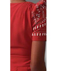 Alice By Temperley | Red Mini Ghana Dress | Lyst