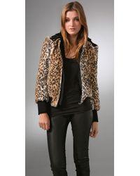 Alice + Olivia | Multicolor Chrissy Leopard-print Faux-fur Jacket | Lyst