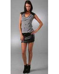 Black Halo - Gray Lita Dress - Lyst