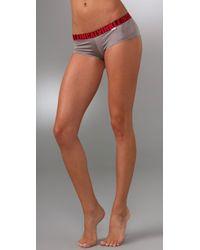 Calvin Klein | White X Micro Cheeky Boy Shorts | Lyst