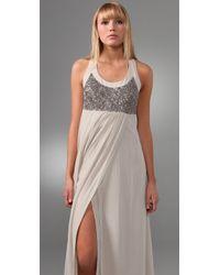 Club Monaco   White Julita Long Dress   Lyst