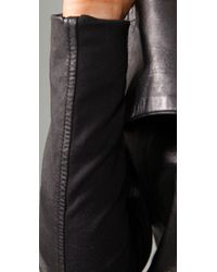 Dallin Chase - Black Solomon Leather Jacket - Lyst