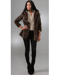 Free People - Multicolor About Town Faux Fur Coat - Lyst