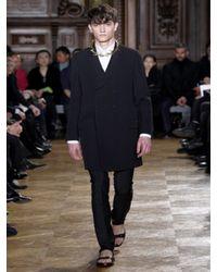 Givenchy - Black Matt Calfskin Sandals for Men - Lyst