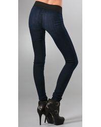 Goldsign - Blue Zebra Long Leggings - Lyst
