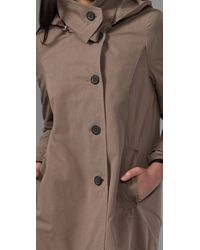 Hanii Y - Brown Hooded Jacket - Lyst