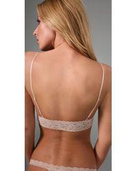 Hanky Panky - Natural Stretch Lace Soft Bra - Lyst