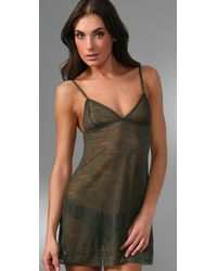 Honeydew Intimates | Green Floral Lace Chemise | Lyst