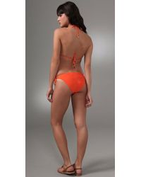 Inca - Orange Pamela Triangle Bikini Top & Bottom - Lyst