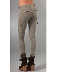 J Brand - Brown Houlihan Twill Cargo Pants - Lyst