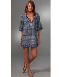 Joie | Blue A La Plage Paisley Parsons Cover Up Tunic | Lyst