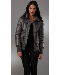 Mackage - Gray Peaches Puffer Jacket - Lyst