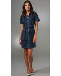 Marc By Marc Jacobs | Blue Vintage Denim Dress | Lyst