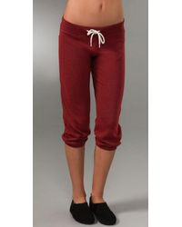 Monrow | Red Vintage Sweats | Lyst