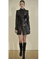 Philosophy di Alberta Ferretti - Black Leather Jacket - Lyst