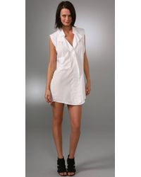 Plastic Island | White Sofia Dress | Lyst