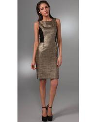 Rachel Roy | Boucle Metallic Sheath Dress | Lyst