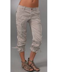 Rich & Skinny | Gray Cool Cargo Pants | Lyst